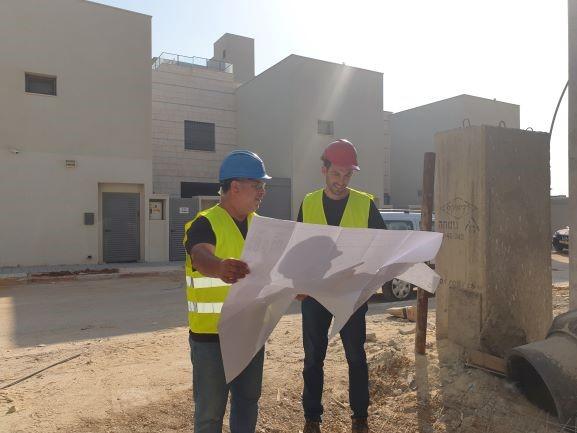 מהנדסי הוריבץ מהנדסים באתר בניה